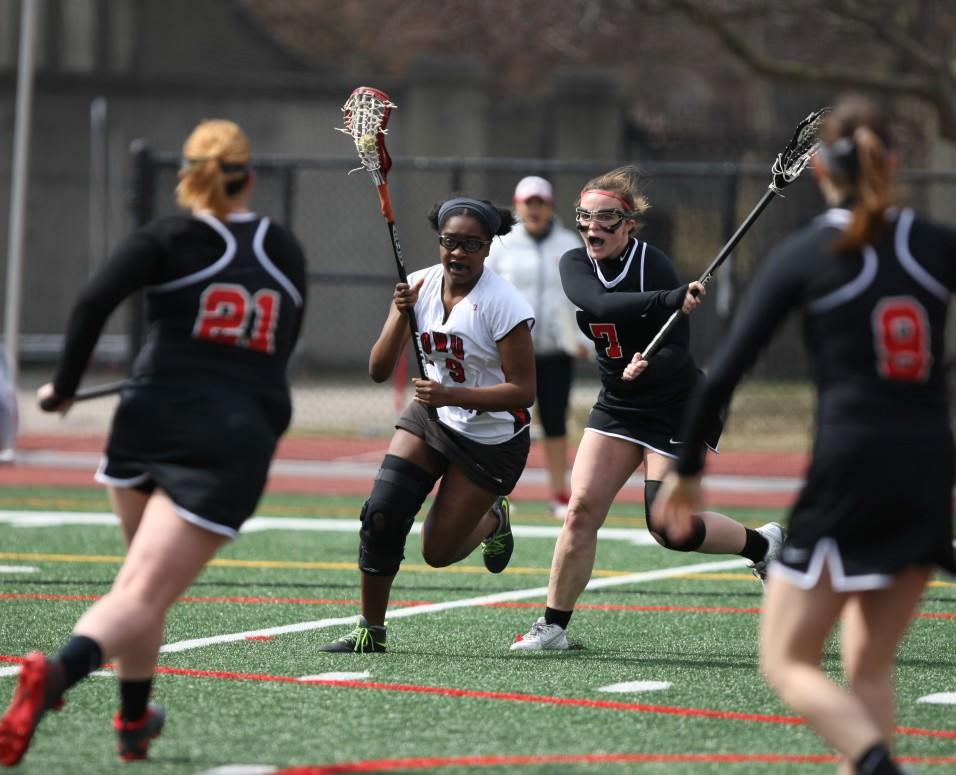 Catholic lacrosse stripper university womens — 5