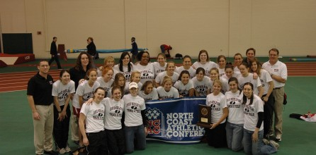 Women's Track Win Indoor and Outdoor Conference Titles