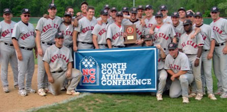 The Baseball Team Wins the NCAC Conference Title