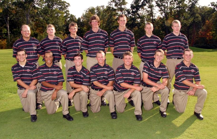 Men's Golf 2007