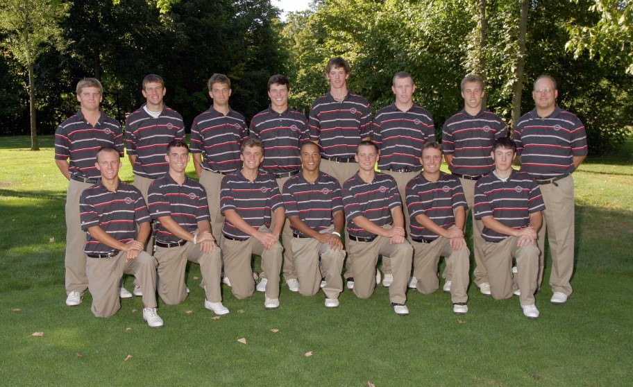 Men's Golf 2008