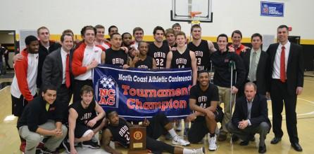 Men's Basketball Wins NCAC Tournament