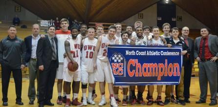 Men's Basketball Wins NCAC Championship