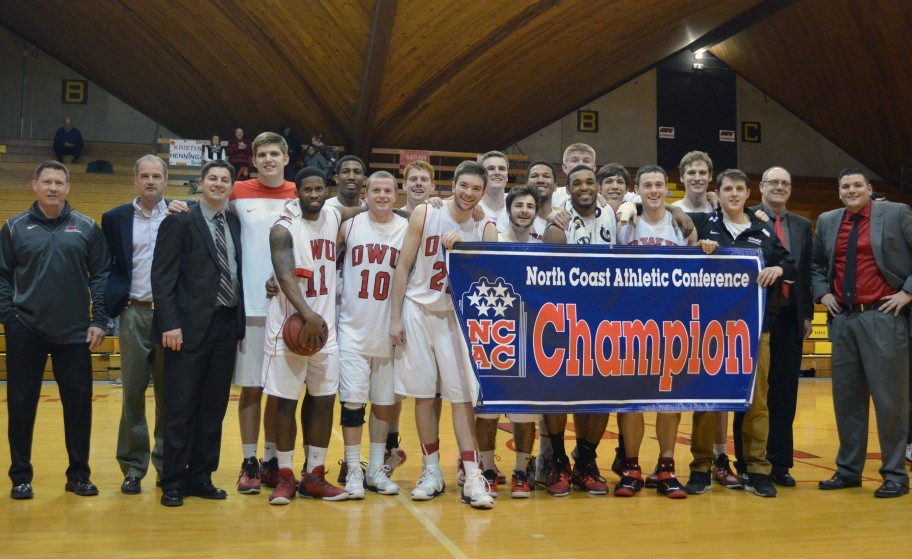 Men's Basketball Wins NCAC Championship