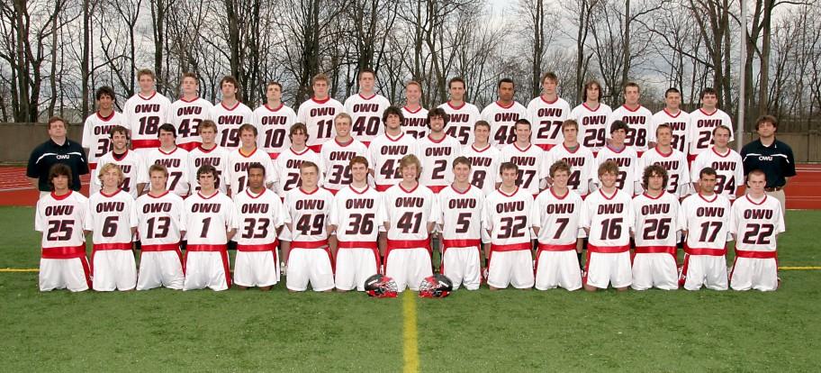 Men's Lacrosse 2007