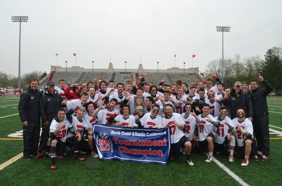 Men's Lacrosse Sets a School Record for Winning Streak