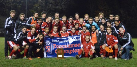 Men's Soccer Is Ranked #1 in the NSCAA Division III Poll