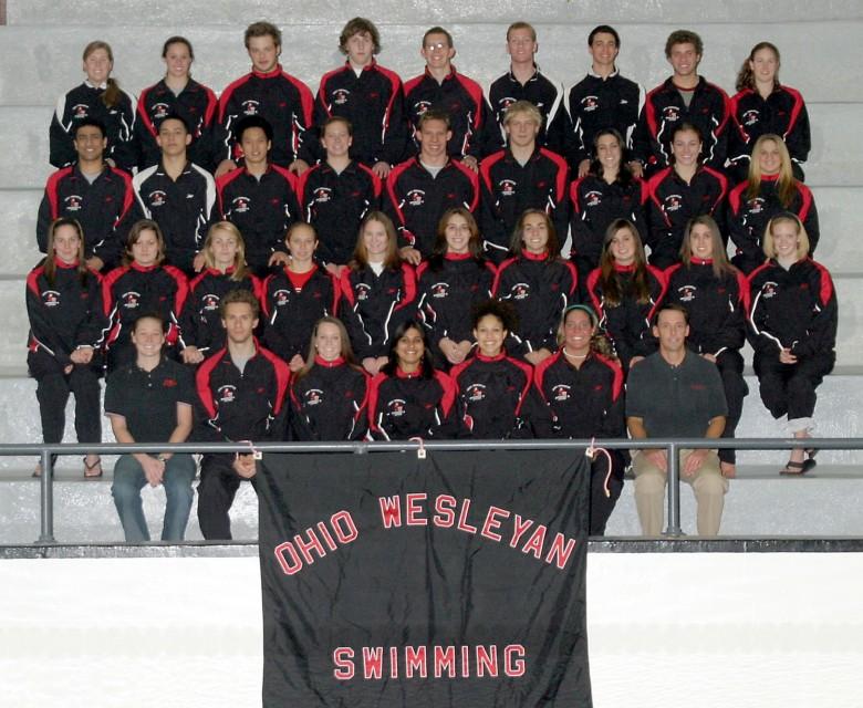 Women's Swimming 2007