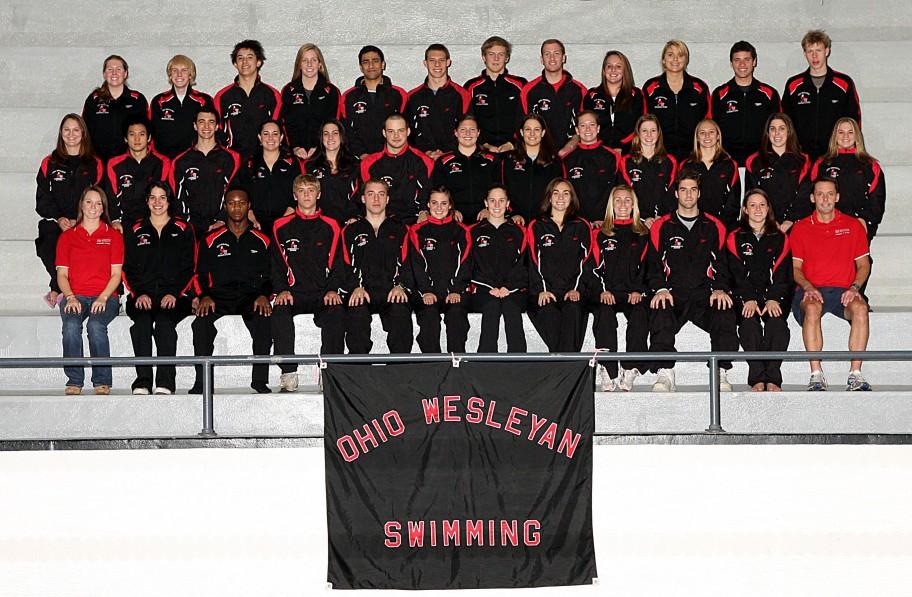 Men's Swimming 2008
