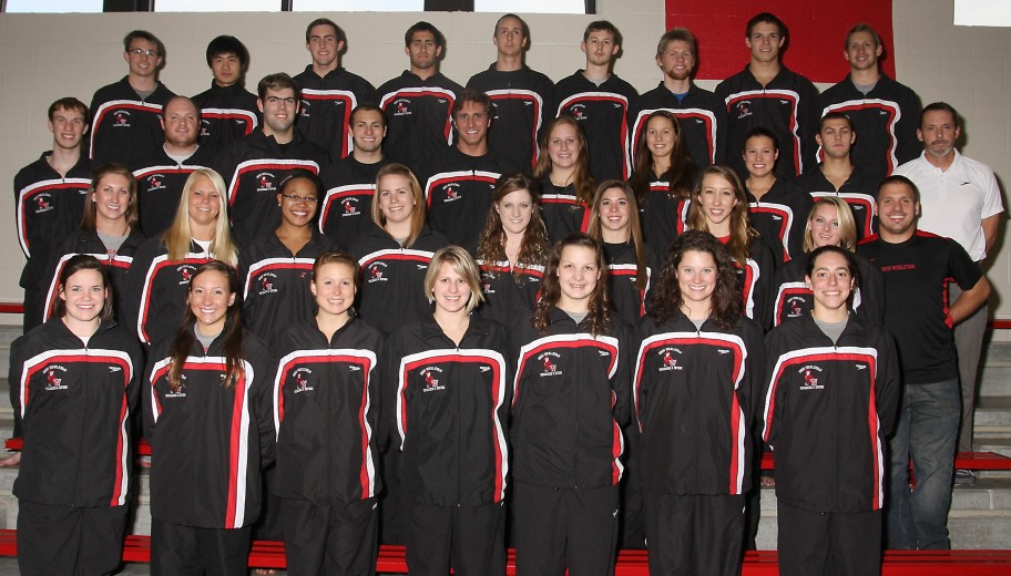 Men's Swimming 2012