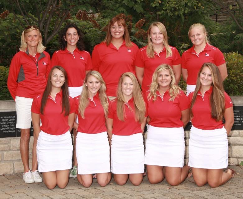 Women's Golf 2013