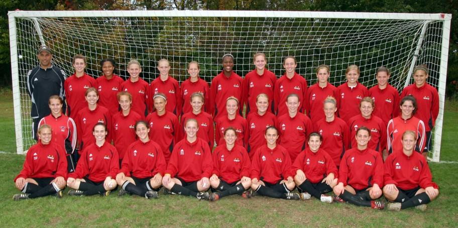 Women's Soccer 2006