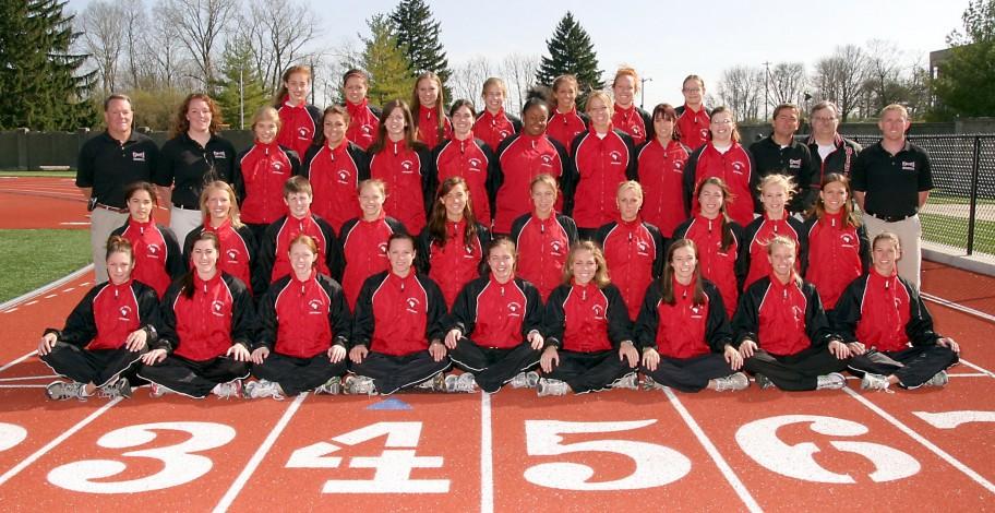 Women's Indoor Track 2007