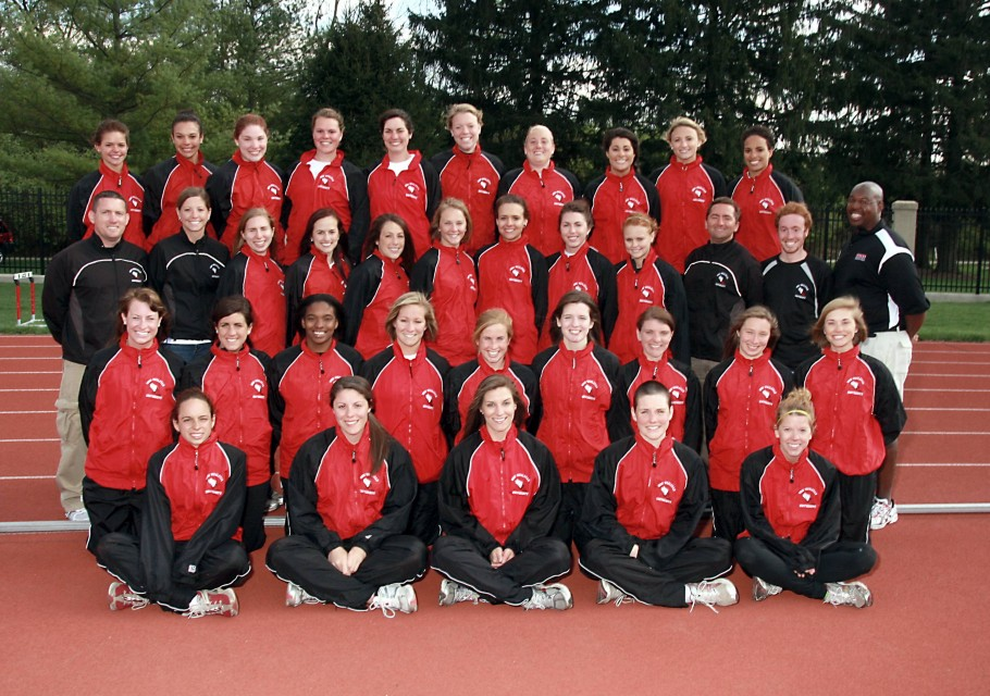 Women's Outdoor Track 2010